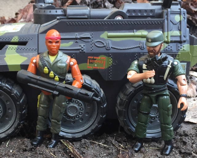 Lanard Corps! Junkyard and Large Sarge