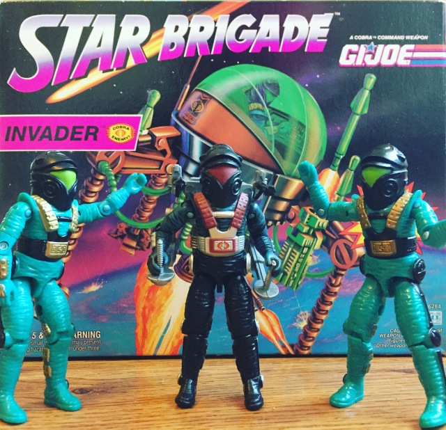 1993 GI Joe Star Brigade Invader