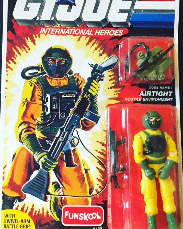 Russian Funskool GI Joe Airtight