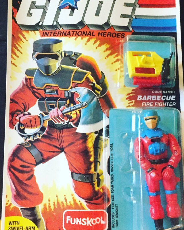 Russian Funskool GI Joe Barbecue