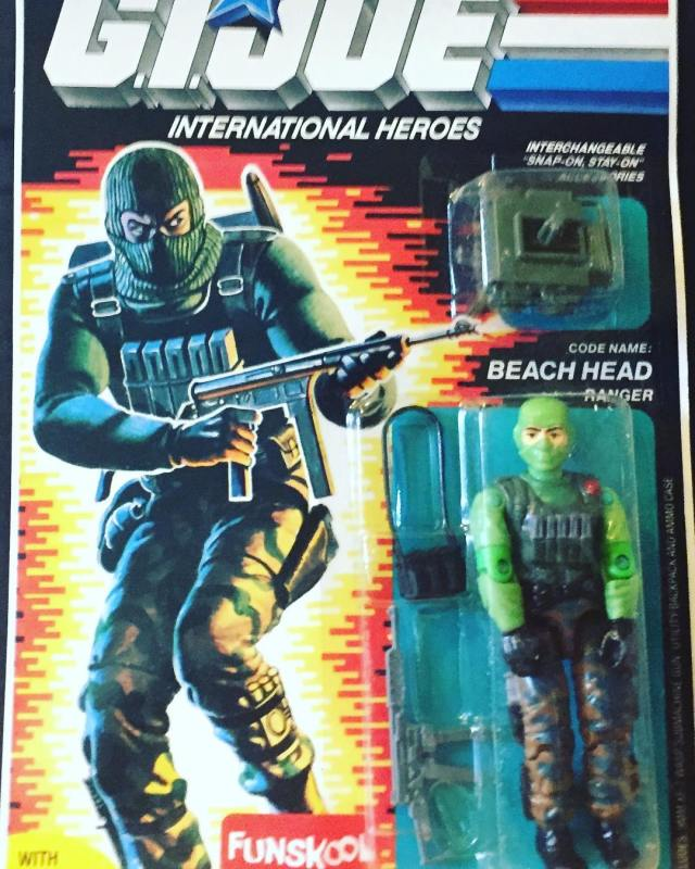 Russian Funskool GI Joe Beach Head