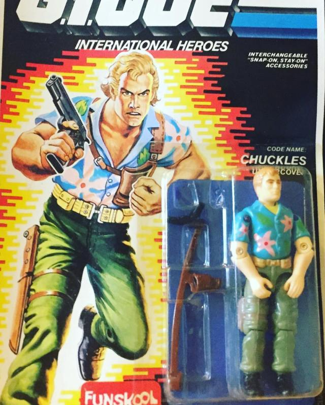 Russian Funskool GI Joe Chuckles