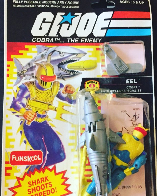 Russian Funskool GI Joe Eel