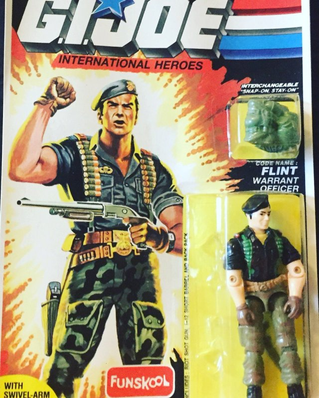 Russian Funskool GI Joe Flint