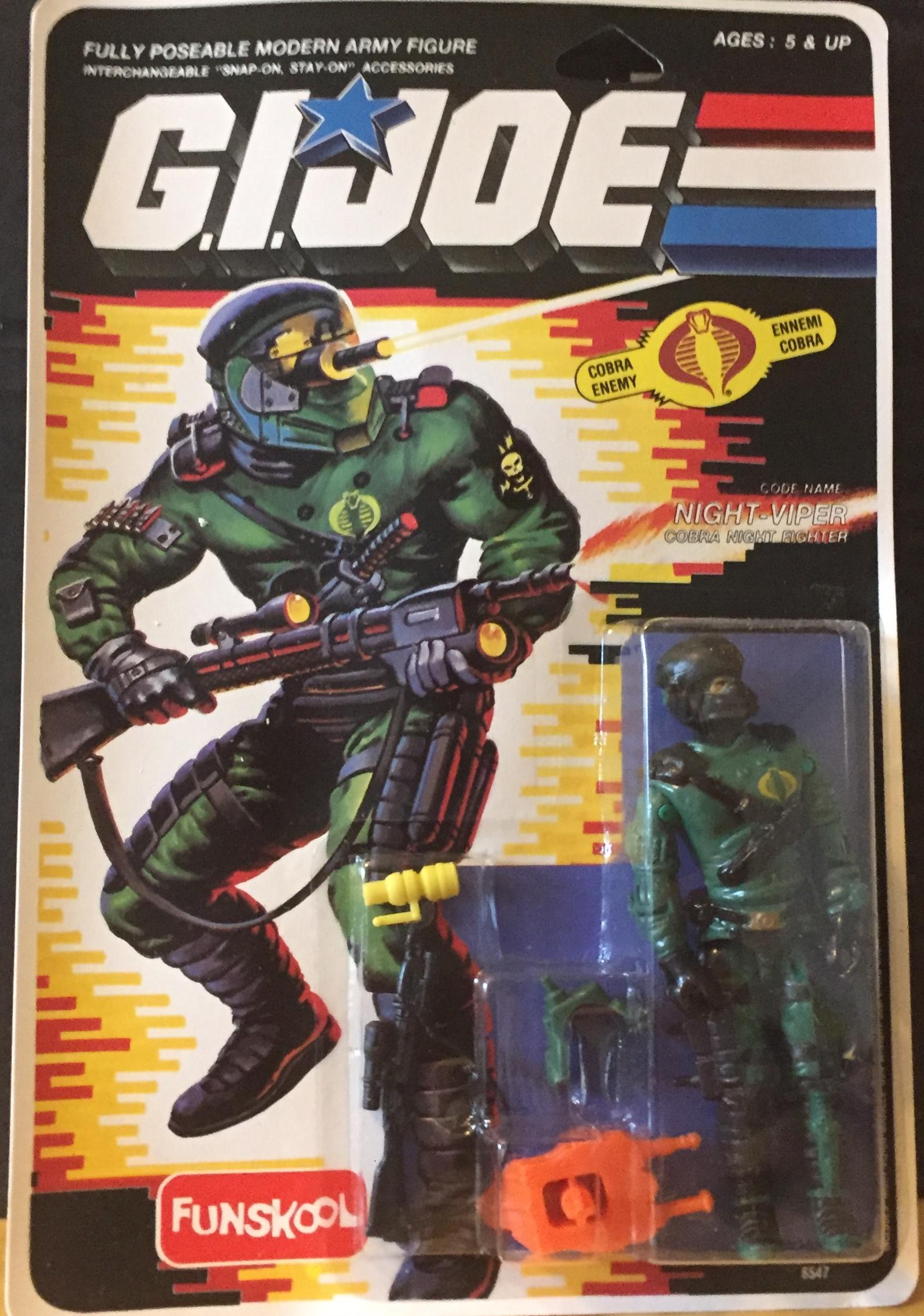 Action Force Pinky guy gi joe Figure G.I.Joe The Corps