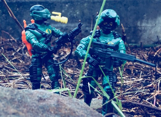 Russian Funskool GI Joe Night Viper
