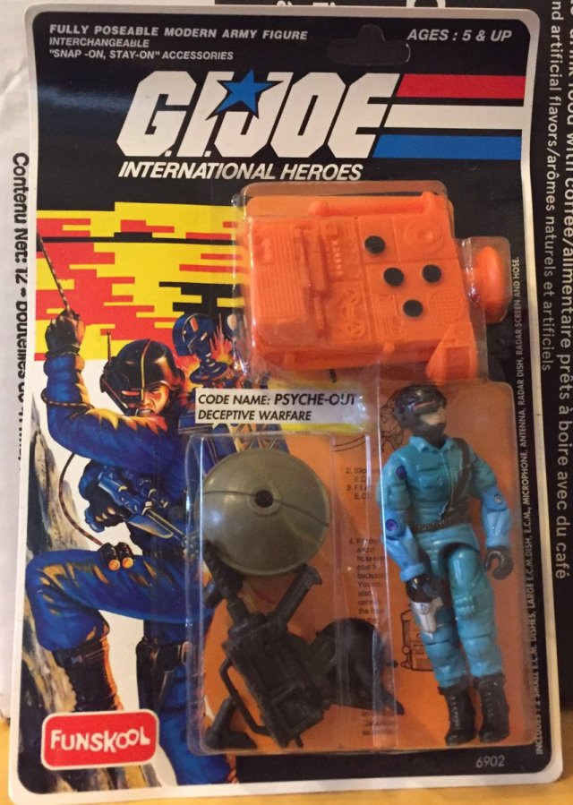 Russian Funskool GI Joe Psyche-Out