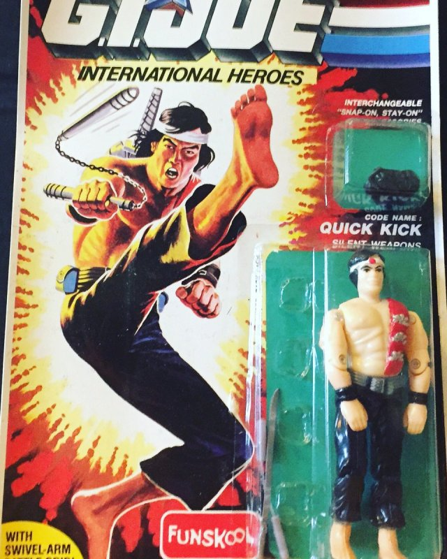 Russian Funskool GI Joe Quick Kick