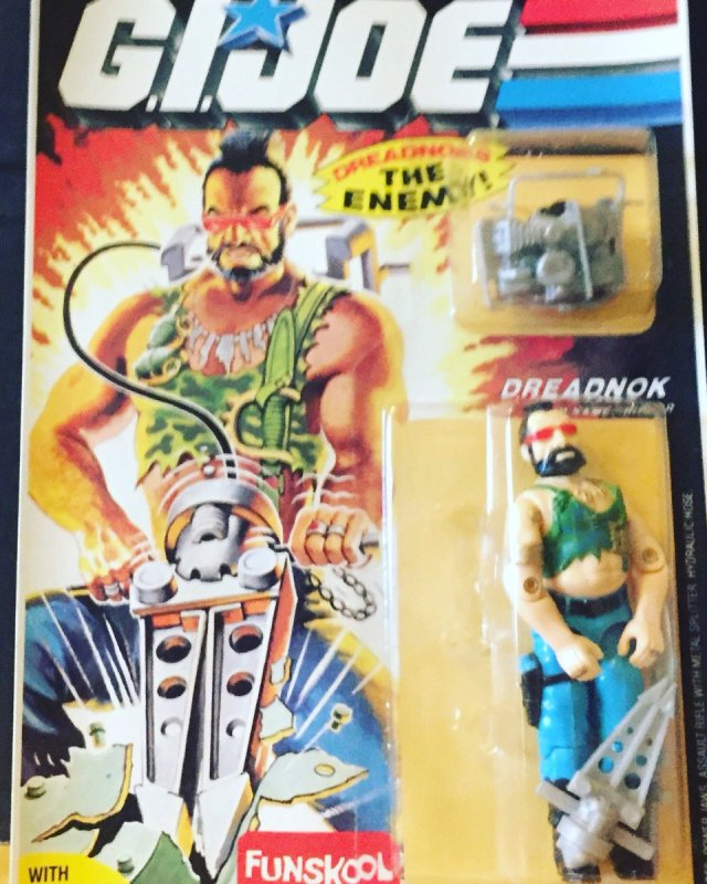Russian Funskool GI Joe Ripper