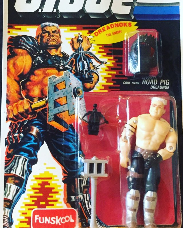 Russian Funskool GI Joe Road Pig
