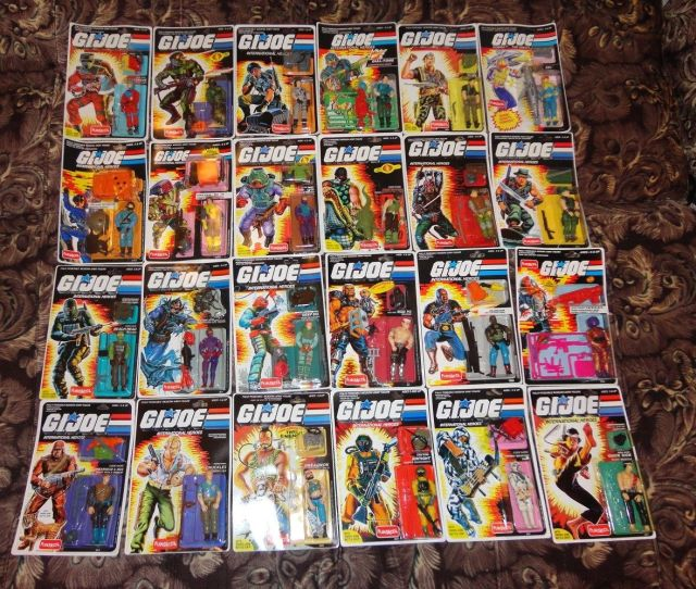 Russian Funskool GI Joe Lot of 24
