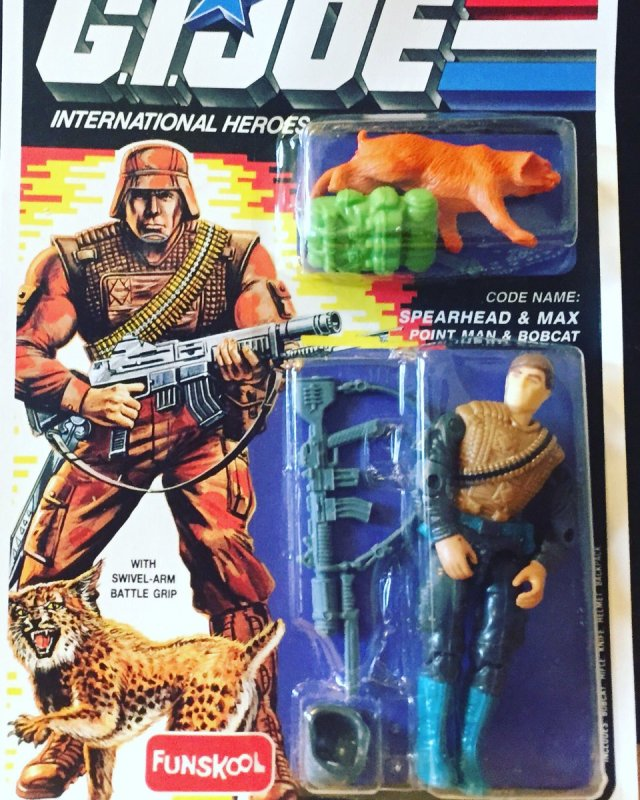 Russian Funskool GI Joe Spearhead