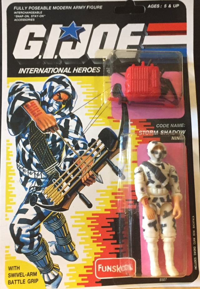 Russian Funskool GI Joe Storm Shadow