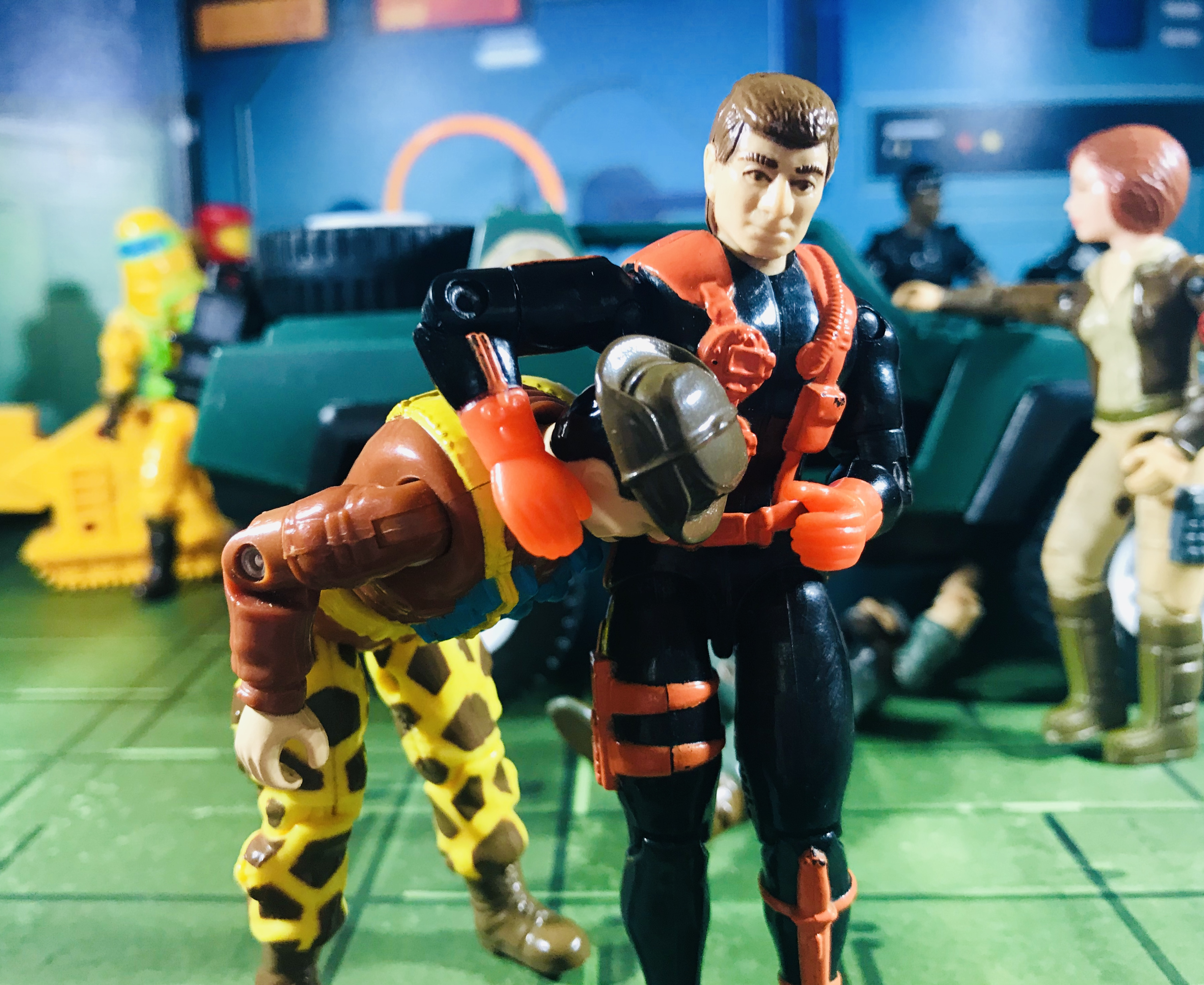 1993 GI Joe Wet-Suit (Battle Corps) – Dragon Fortress
