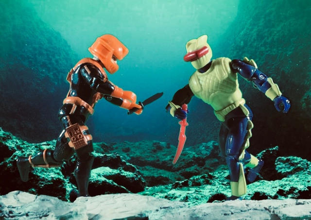 1993 GI Joe Wet Suit battle corps