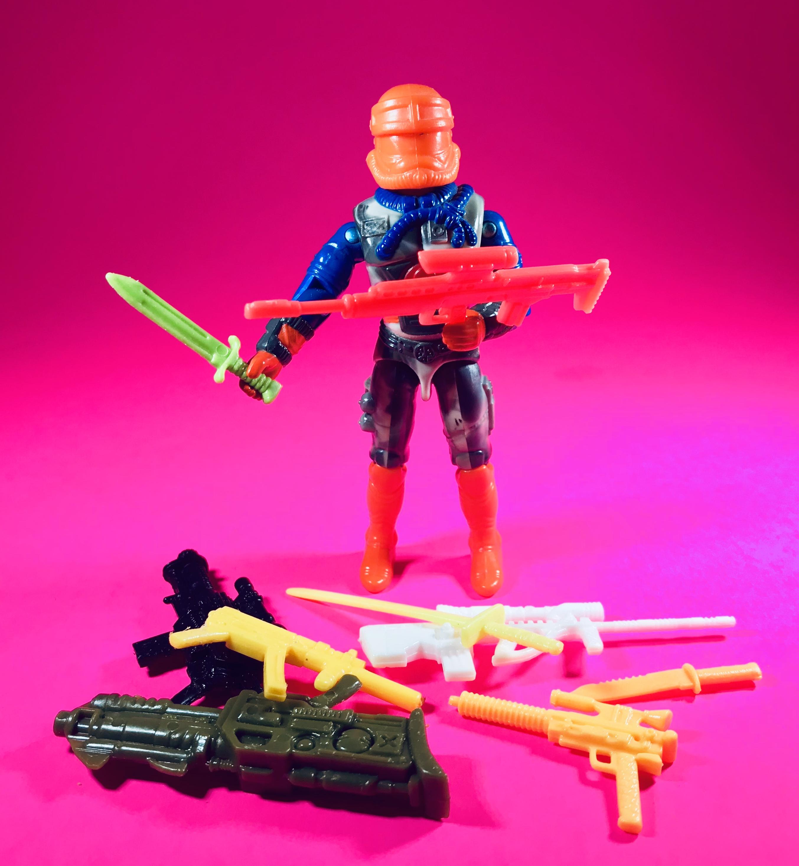 1994 lobotomaxx Gun Part vintage arme//accessoire GI Joe
