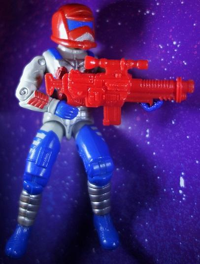 Cobra Rock Viper Rifle 1990 Hasbro ARAH GI Joe Weapon Accessory Part Gun