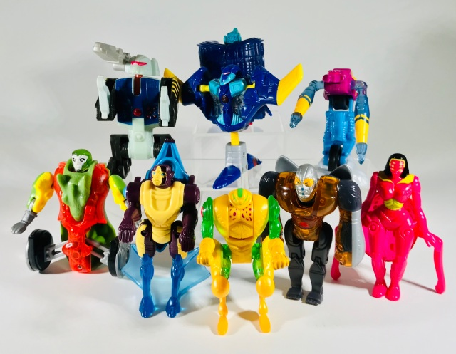 2000 Transformers Beast Machines McDonald's Happy Meal Toys