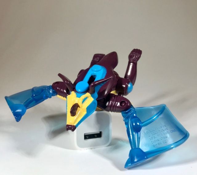 2000 Transformers Beast Machines McDonald's Happy Meal Nightscream, beast mode