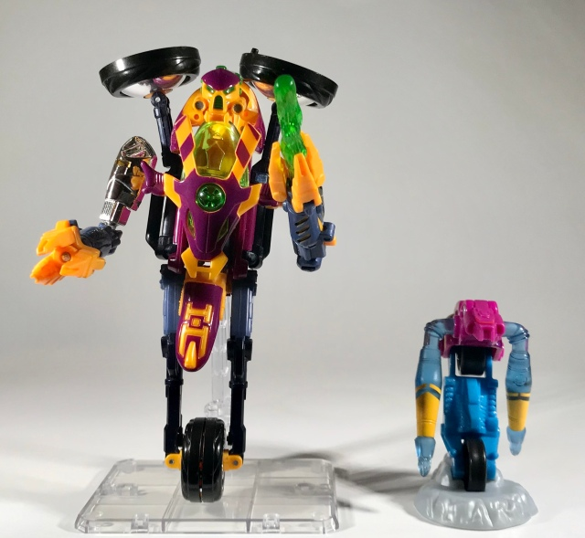 2000 Transformers Beast Machines McDonald's Happy Meal Thrust with original