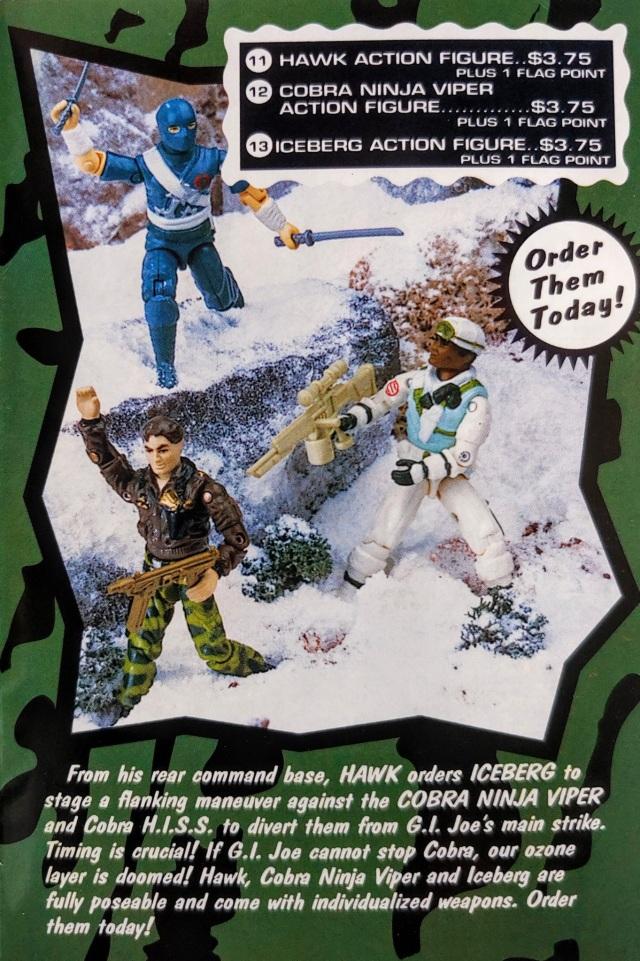 1992 GI Joe Ninja Viper