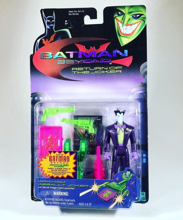 2000 Batman Beyond: Return of the Joker Arkham Assault Joker