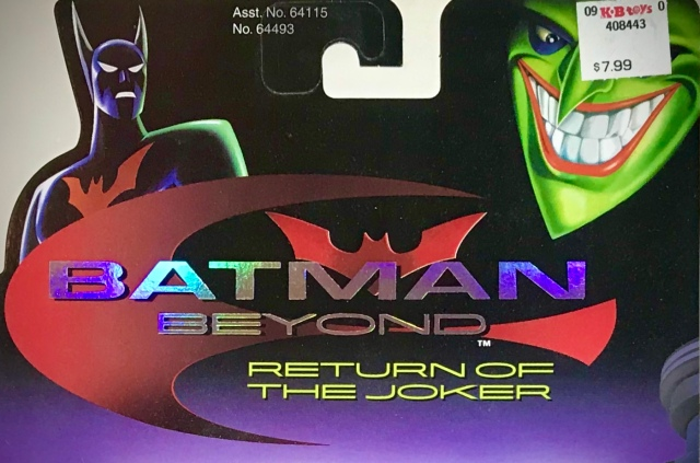 2000 Batman Beyond: Return of the Joker Toy Line