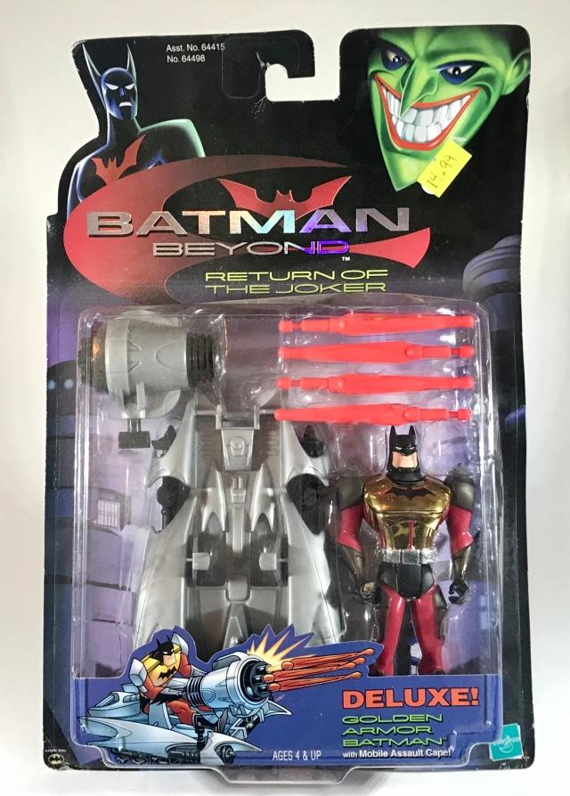 2000 Batman Beyond: Return of the Joker Golden Armor Batman