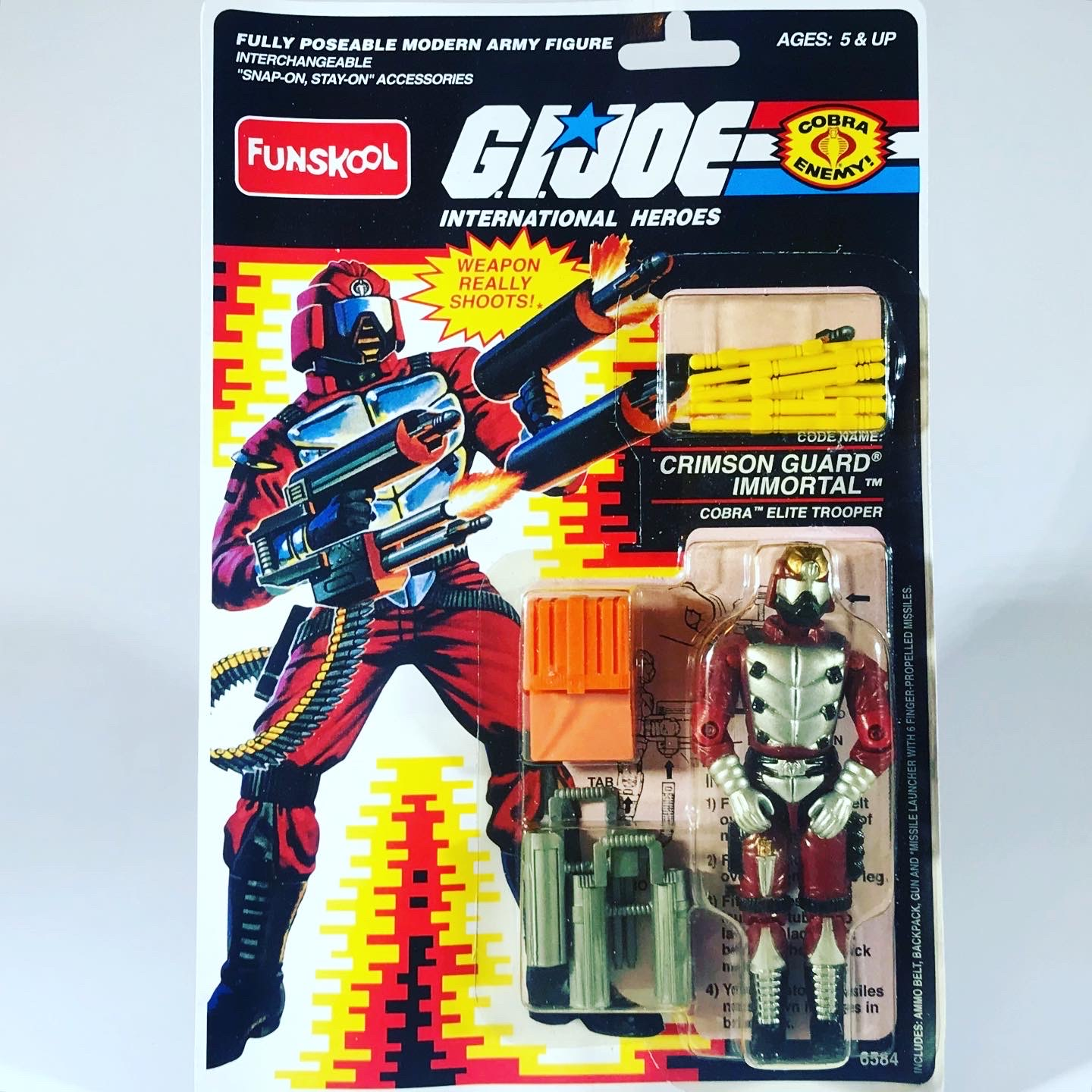 Funskool GI Joe Crimson Guard Immortal