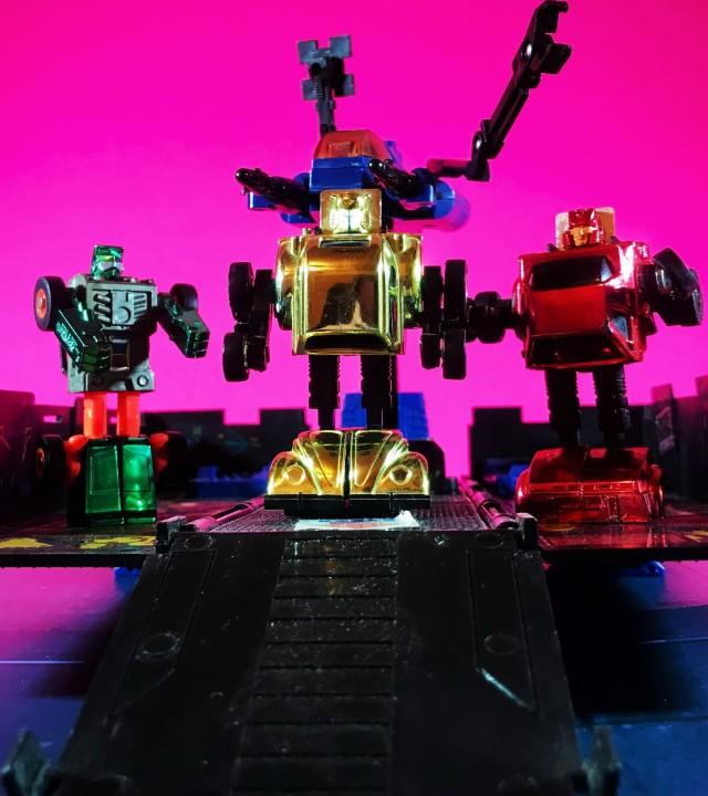 1993 Transformers Generation 2 Minibots