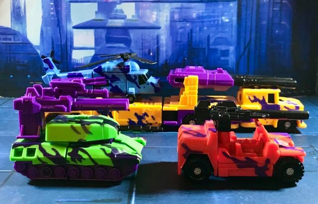 1994 Transformers Generation 2 Combaticons