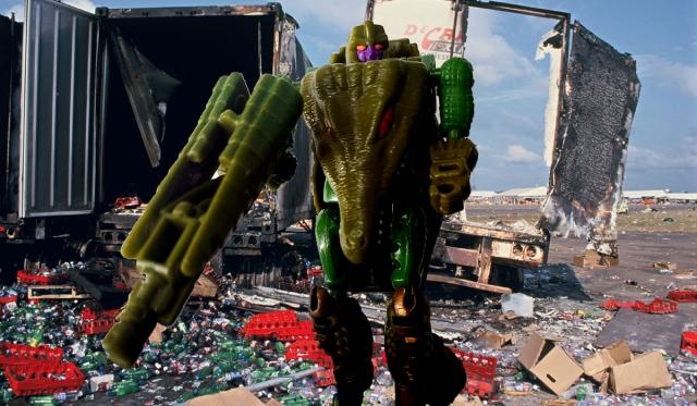 1996 Transformers Beast Wars Megatron (Alligator)