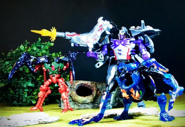 1998 Transformers Beast Wars II Max-B