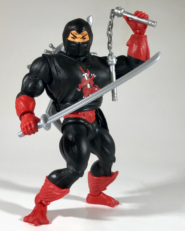 Masters of the Universe Origins Ninjor