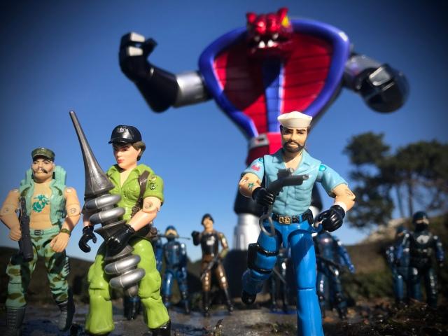 GI Joe Steel Kaiju (Cobra Sentinel)