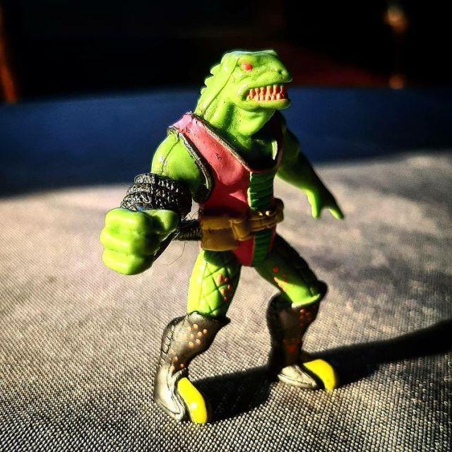 1991 Trash Bag Bunch Scum Lizard