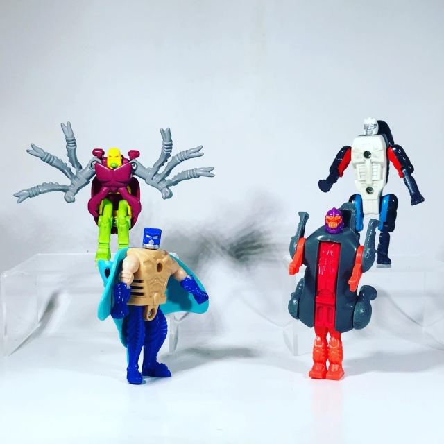 1996 Beast Wars Happy Meal Toys