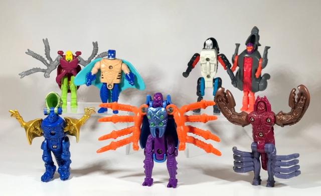 1998 Transformers Beast Wars Transmetals McDonald's Happy Meal Toys
