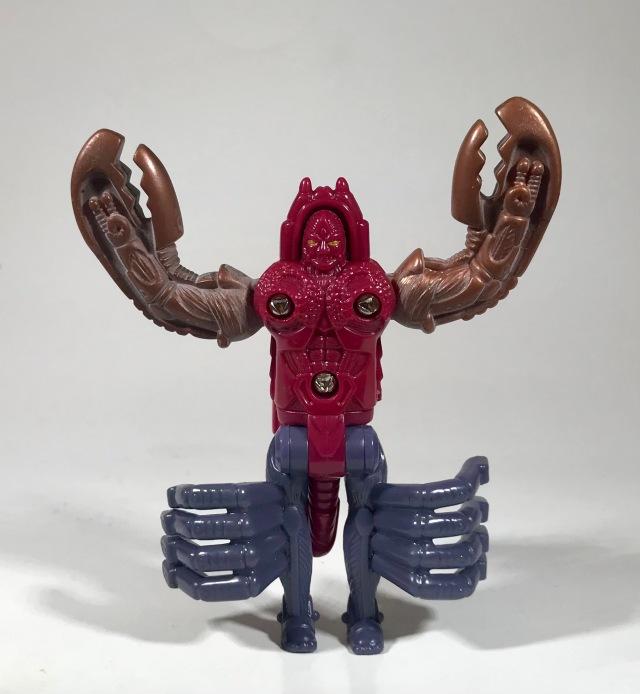 1998 Transformers Beast Wars Transmetals McDonald's Happy Meal Scorponok