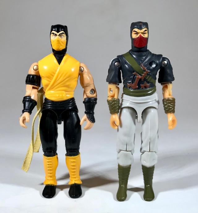 1994 Hasbro Mortal Kombat Scorpion