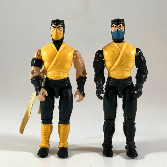 1995 Hasbro Mortal Kombat Scorpion (Movie Edition)
