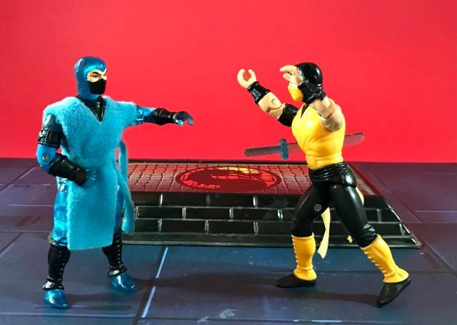 1995 Hasbro Mortal Kombat Sub-Zero (Movie Edition)