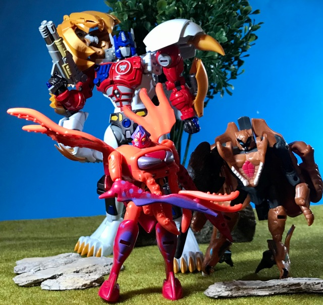 1997 Transformers Beast Wars Claw Jaw