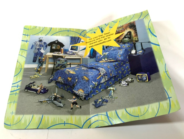 2001 Jack in the Box Kids Meal Max Steel Toys