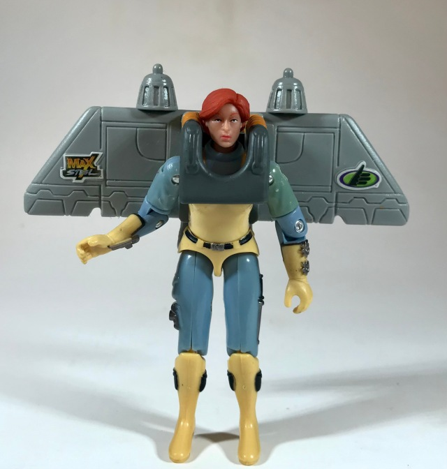 2001 Jack in the Box Kids Meal Max Steel Kat with Jet Pack