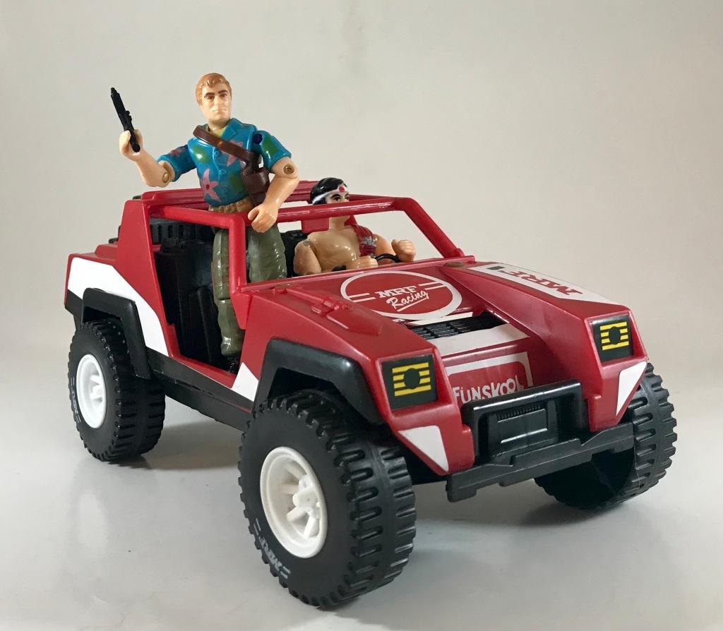 Funskool MRF Racing Jeep